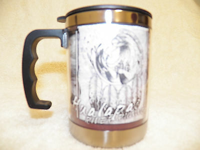 2 Coffee Thermal Cups With Handle   Nib