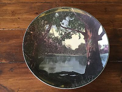 Vintage Royal Doulton Murray River Gums D6425 Cabinet Plate.