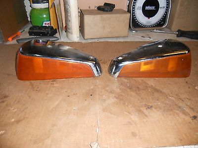 Front Turn Signal Lenses And Covers 70 To 77 Vw Beetle