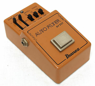 Vintage Ibanez AF-201 Auto Filter Guitar Pedal | Great Condition, Wah & Envelope