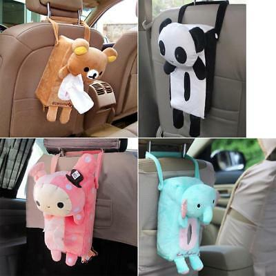Portable Car Rectangle Animal Tissue Box Cover Holder Bathroom Storage