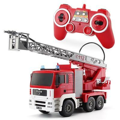 RC Radio Control Car Fire Engine Truck Construction Engineer Vehicle shoot Water