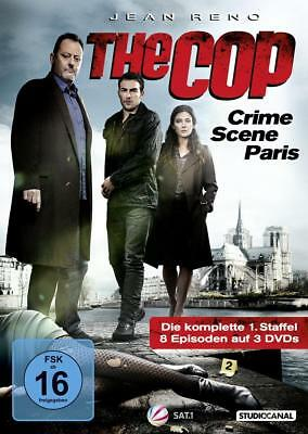 "2 Bluray-BOX - ""THE COP - CRIME SCENE PARIS""- neu+ovp++"