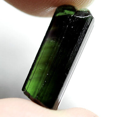 5.20Ct.unheated! Rough Neon Green Natural Crystal Tourmaline Nigeria