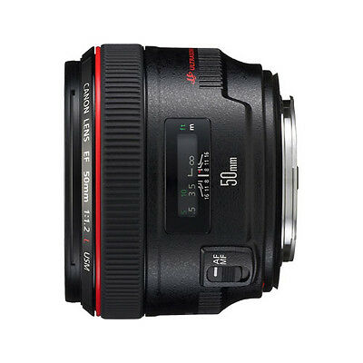 Canon EF 50mm f/1.2L USM Camera Lens