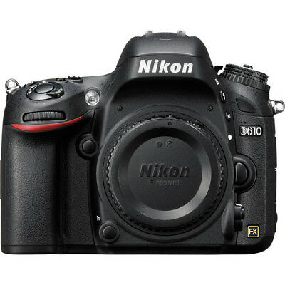 Nikon D610 Digital Camera DSLR SLR Body Only with Multiple Languages BRAND NEW