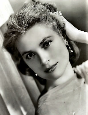 Grace Kelly 2 Film Actress Glossy Black & White Photo Picture Print A4