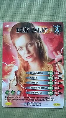 Dr. Who Invader Card. 446 - 'Dolly Bailey.' Human.