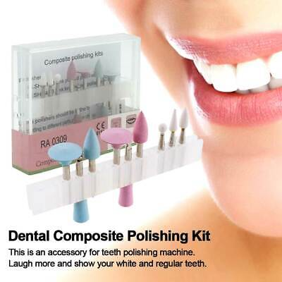 Dental Cured Resin Burs Composite Polishing Kit for Low Speed Contra/ Handpiece