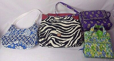 Lot of purses Dooney & Bourke and Vera bradley