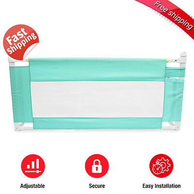 Child Kid Toddler 150cm Safety Bed Rail Baby Bedrail Fold Cot Guard Protection