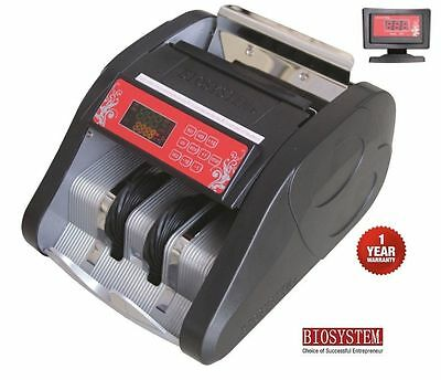 Office Bank Use Money Bill Note Counter 500 Machine Cash Notes Voice UV MG1 MG2