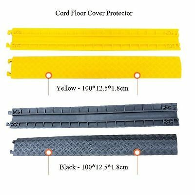 PVC Rubber Duct Wire Cable Cord Drop Over Floor Cover Protector Indoor Outdoor