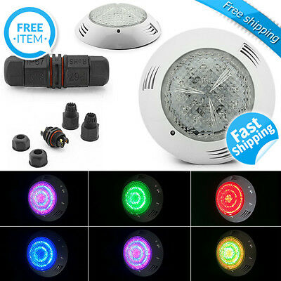 Swimming Pool Light Underwater Pond 18W 7 Colours Bright LED IP68 with Remote