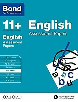 Bond 11+: English Assessment Papers [8-9 Years] NEW