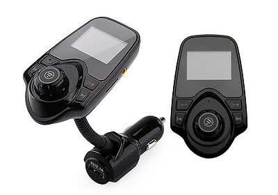 3.0 Bluetooth LCD Car Kit T10 FM Transmitter USB Charger MP3 Player Handsfree