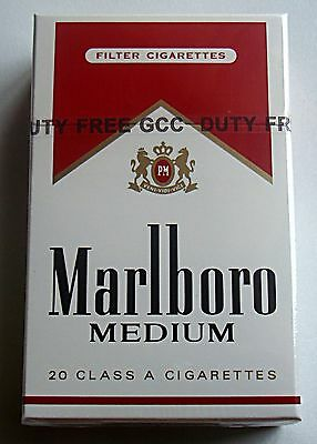Marlboro Medium Vintage OLD Packaging
