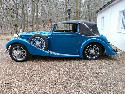 MG VA Tickford 1.5 Litre 1938