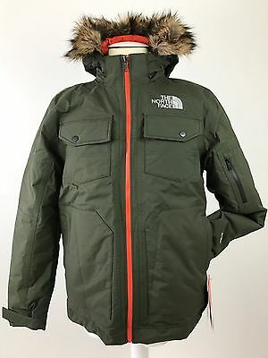 The North Face Yellowband Parka Down Hyvent Jacket Chaqueta Plumas Size M New
