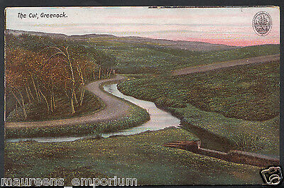 Scotland Postcard - The Cut, Greenock   C1063