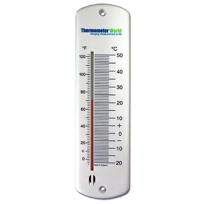 Large Wall Thermometer Indoor Outdoor Garden Greenhouse Home Office Room In-048