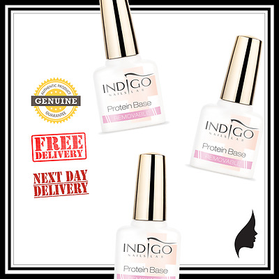 INDIGO REMOVABLE PROTEIN BASE 100% GENUINE from OFFICIAL RETAILER IN UK!!!
