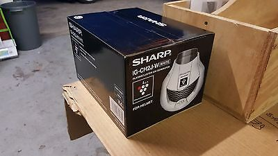 Sharp Plasmacluster Ion Generator for Cleaning and Deodorising Helmet IG-CH2J-W