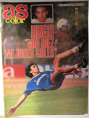 Revista As - Año 1989 - Hugo Sanchez Y John Aldridge
