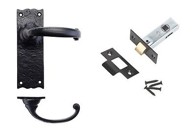 7 Sets Traditional Black Antique (Internal Latch Set)