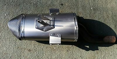 Triumph Dayton 675 06-12 Arrow exhaust end can slip on 5OLD 5OLD 5OLD!!!