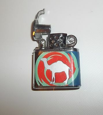 Camel mini Trench Style Lighters multi color 1 1/2'' tall 1 1/2'' wide