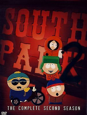 BRAND NEW 3DVD SET // SOUTH PARK // COMPLETE 2ND SEASON // 404 min