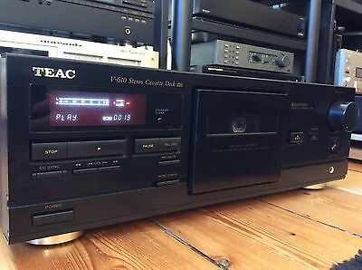 TEAC V-610 Stereo Cassette Deck Dolby X-PRO ( serviced )