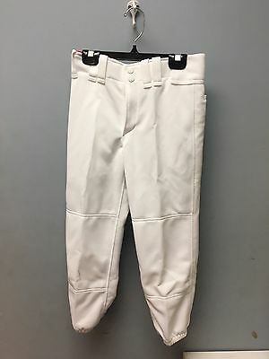 Womens Elastic Bottom Mizuno Fastpitch Pant Multiple Sizes Color White (350150)