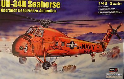 UH-34D Seahorse Operation Deep Freeze , 1:48 , MRC , Plastik , *NEU*