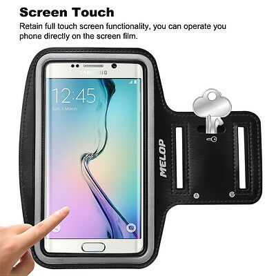 Armband for Samsung Galaxy S3 S4 S5 S6 edge J1 J3 J3V + Key Hold Card Pocket