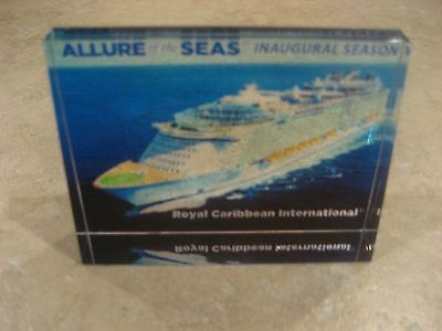 Collectible Crystal Allure of the Seas Inauguaral Season
