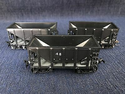 HO 24' Ore Cars Set Of 3 Undecorated