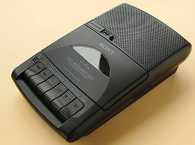 Sony TCM-939 (unused) Portable Cassette Recorder/Player + microphone