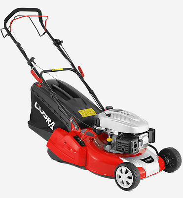"New 18"" Cobra self propelled petrol lawnmower  with rear roller"