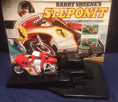 Vintage Barry Sheene's Steponit Denny Fisher 1977 Like Evel Knievel Stunt Cycle