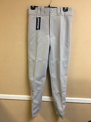 Adult Premier Player Mizuno Baseball Pant Multiple Sizes Color Grey (350007)