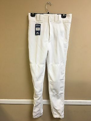 Adult Premier Player Mizuno Baseball Pant Multiple Sizes Color White (350007)