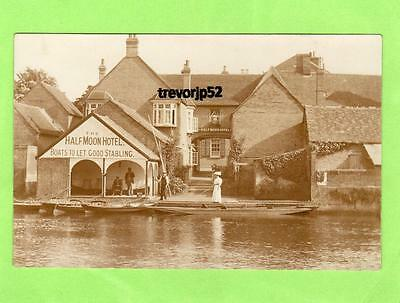 St Neots Half Moon Hotel now Bridge House unused RP pc  Ref A540