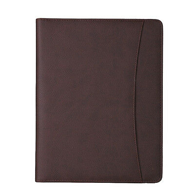 Conference Folder Meeting PU Leather Business Trip Portfolio Organiser