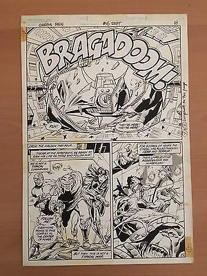 Omega Men 1. Series  Art Page Issue #6, page 18 (Keith Giffen) (#040)