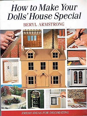 Doll's House and miniatures books how to make your dolls house special