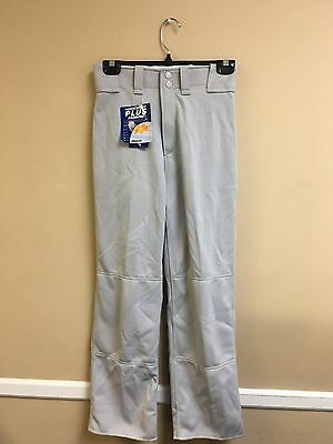 Youth Relaxed Fit Mizuno Baseball Pant Multiple Sizes Color Grey (350264)