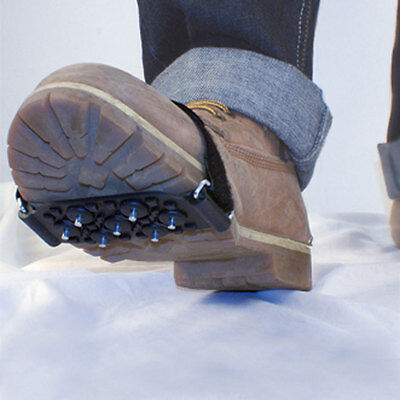 UNISEX - 1 PAIR - AA Snow and Ice Grips Steel studs for traction whilst walking