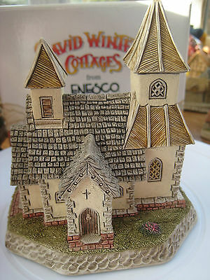 "David Winter ""the Church Of The Good Shepherd"" D1042 Mint Boxed"